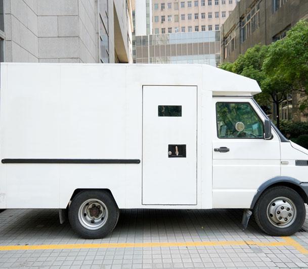 white-armored-car